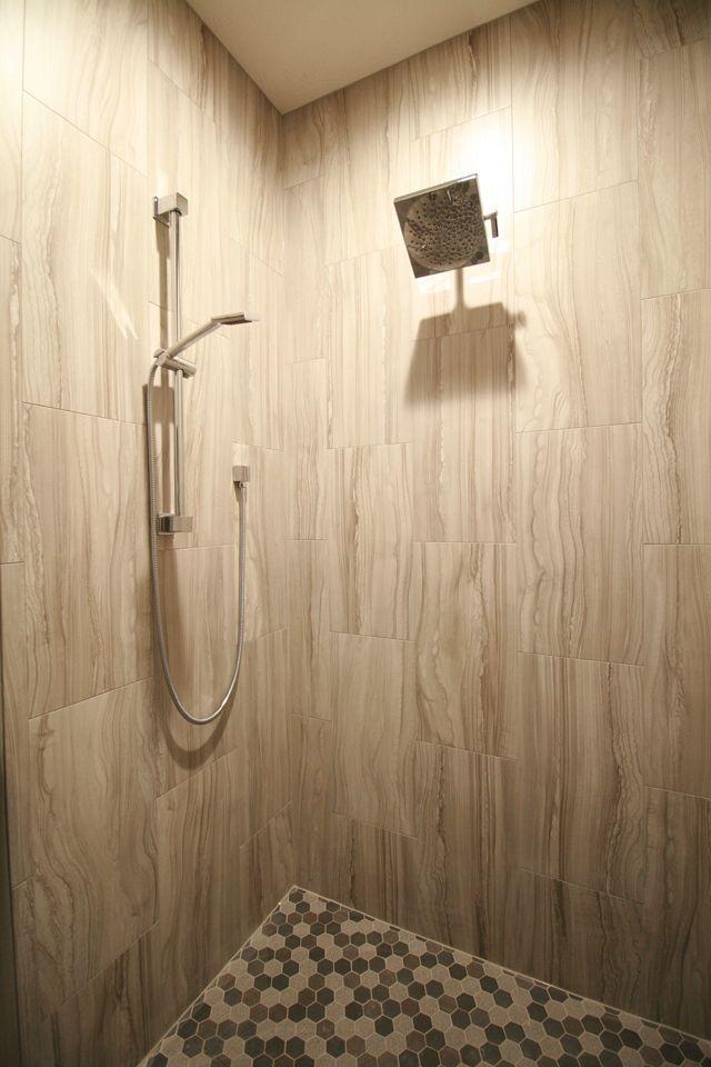 walkin shower remodel