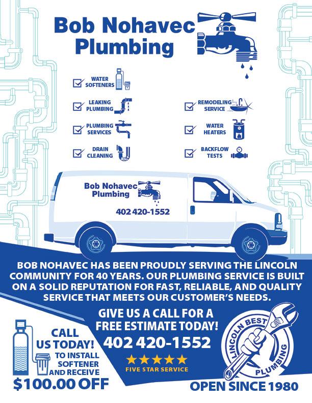Plumbing Promotion Flyer